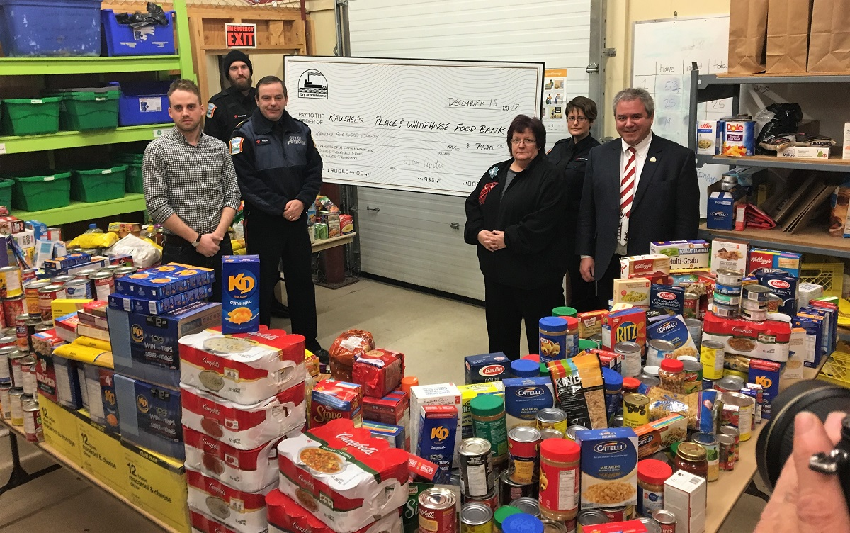 Food for Fines donations