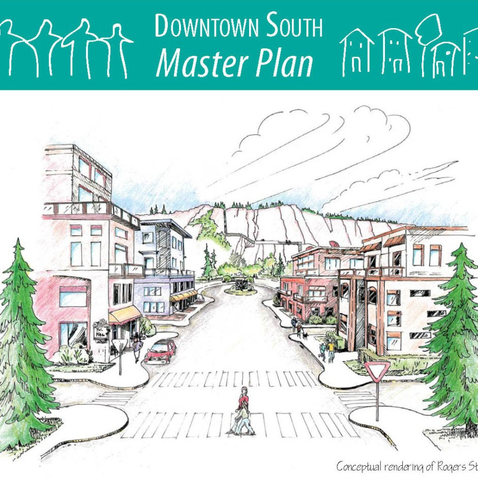 Downtown south plan cover page square crop