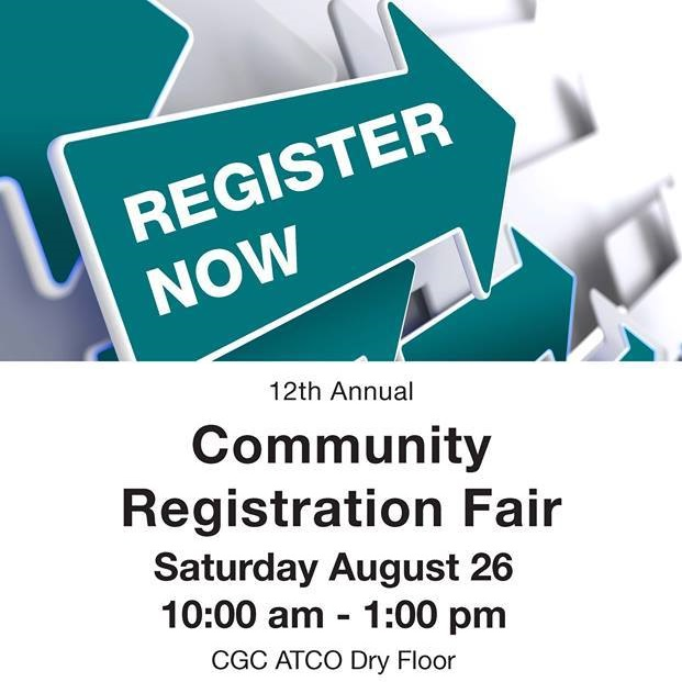 Community Registration Fair Square